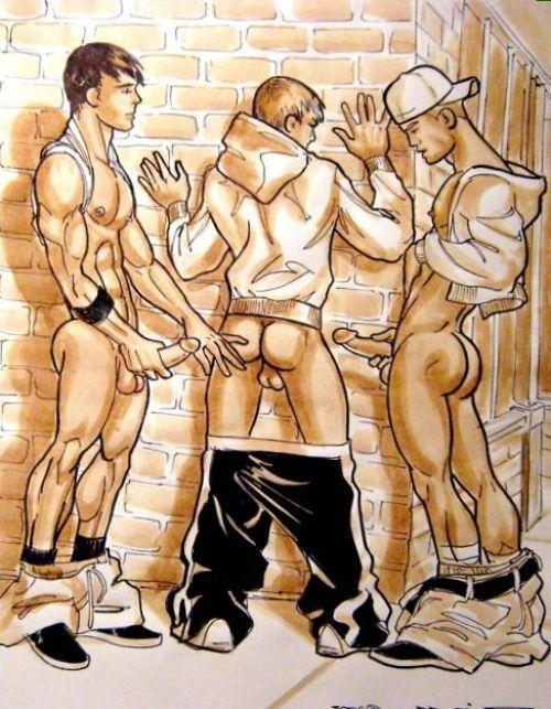 best of Male bondage cartoon