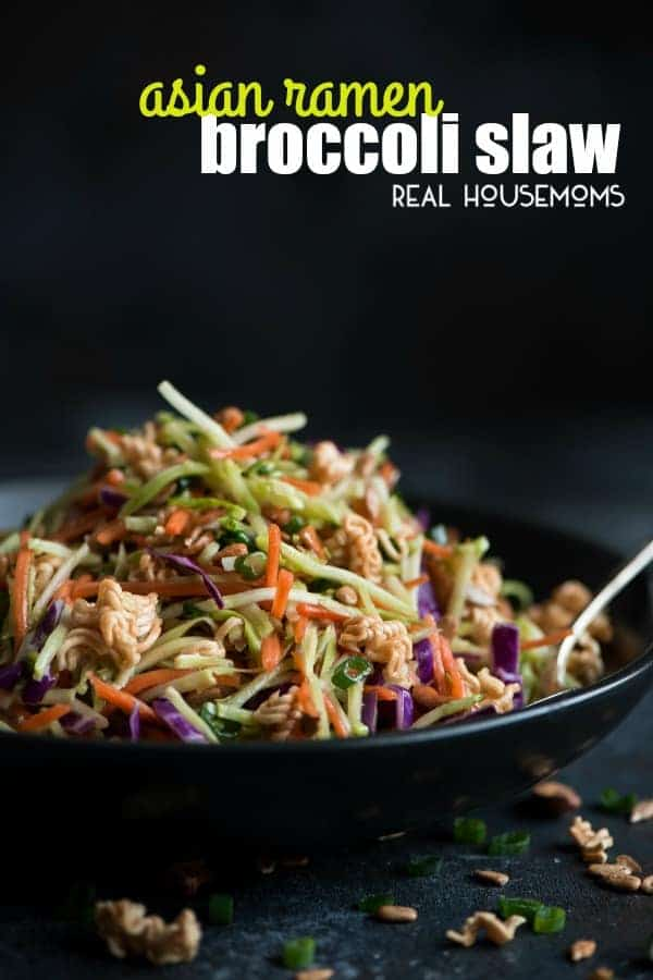 Don reccomend Asian ramen broccoli slaw