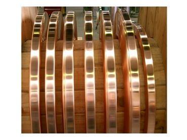 Copper earth strip