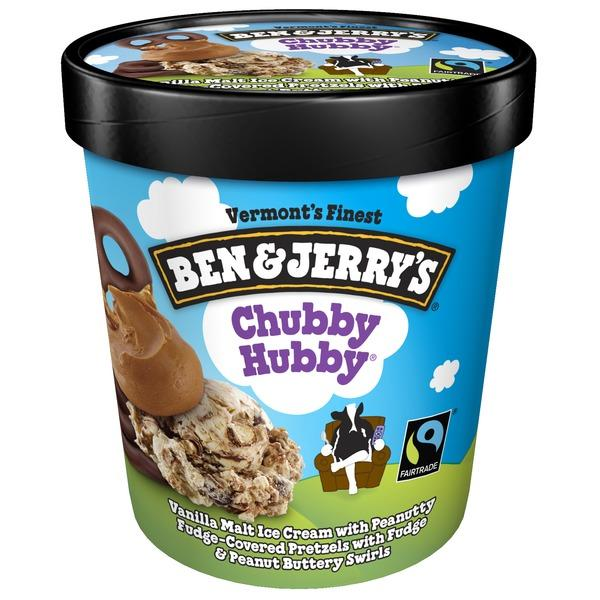 King K. reccomend Ben and jerry chubby hubby