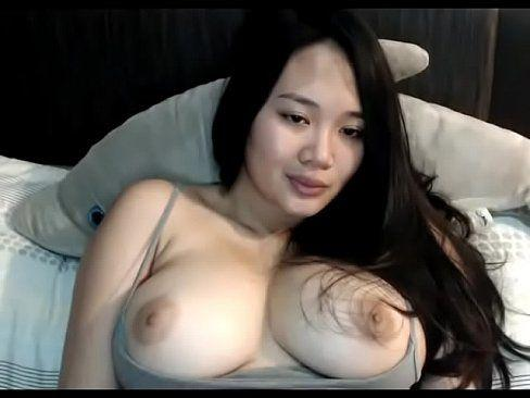 Hot asian girl boob