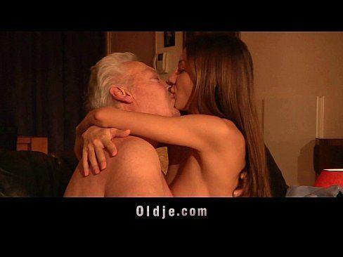 Anal and old man seduces girl But Anna is decided to keep her job.