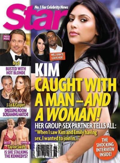 Admiral o. t. F. reccomend Kim kardashian threesome