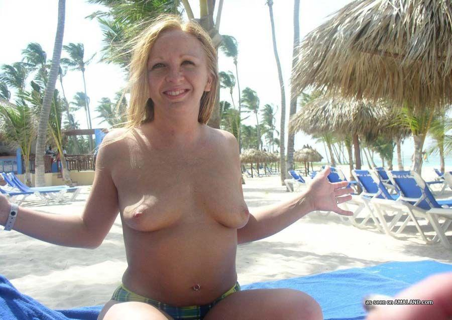 My Wife Shows Off Her Tits Hot Nude