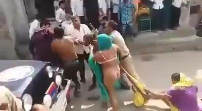 best of Nude Real fighting women street