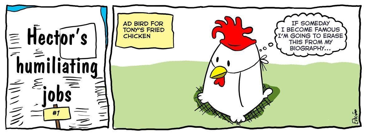 Bird comic strip