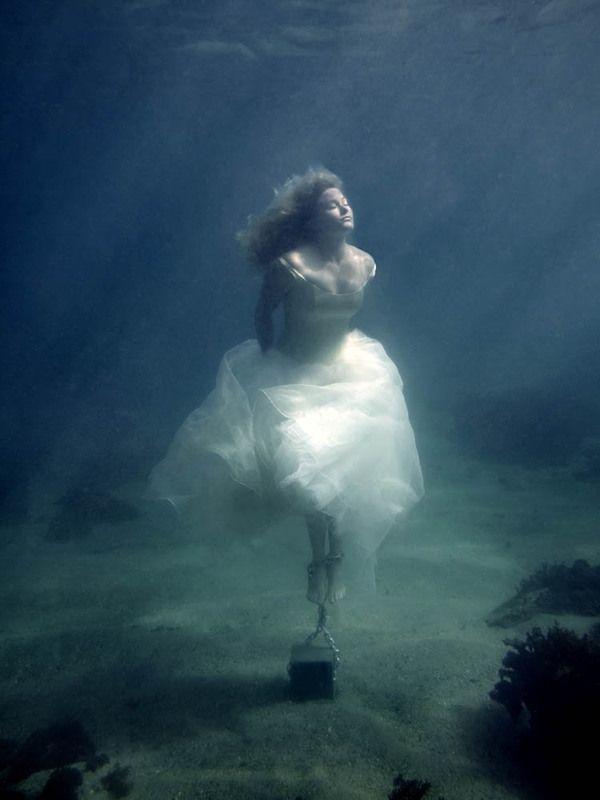 Erotic women drowning