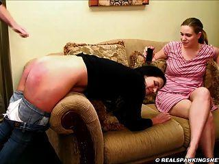Spank sister mother knee jeans brush couchfriends foto 332