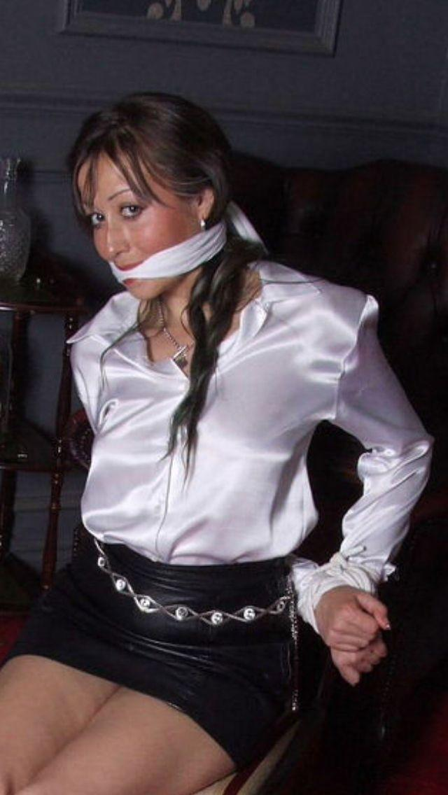 Bondage and office attire
