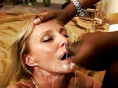 Rover reccomend Cum facial interracial shot