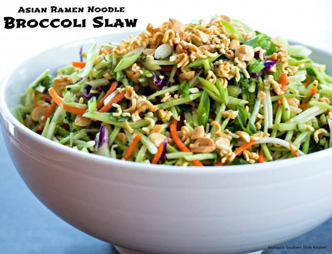 Cutlass reccomend Asian ramen broccoli slaw