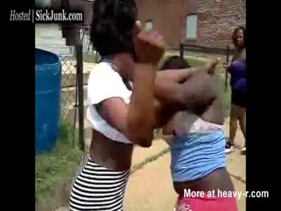 best of Nude Real fighting women street