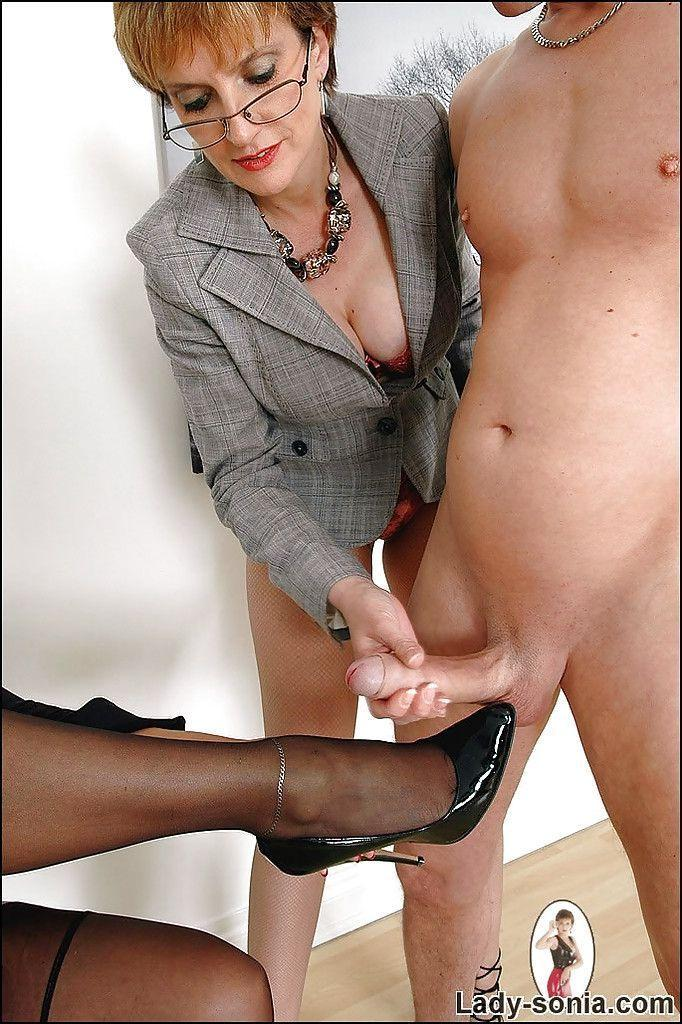 Are lady sonia hand job clip something