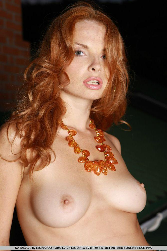 best of Redhead nudes face Freckle