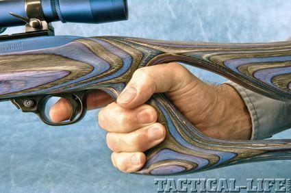 Hook reccomend Gun hole stock thumb
