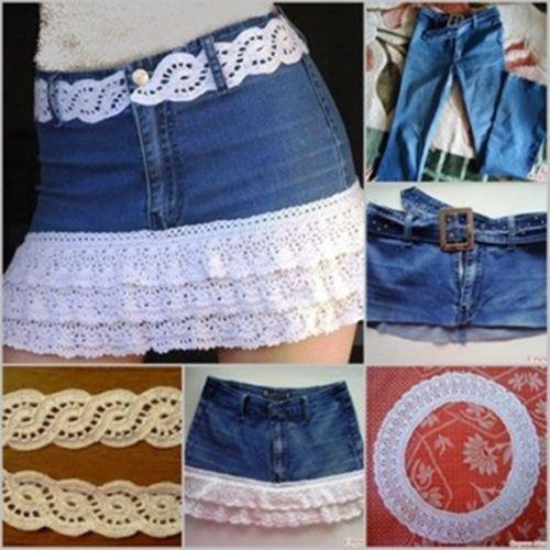 Firestruck reccomend How to make a denim skirt from jeans
