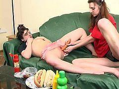 best of Food Lesbian porn with