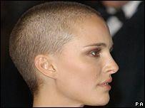 Natalie portman shaved