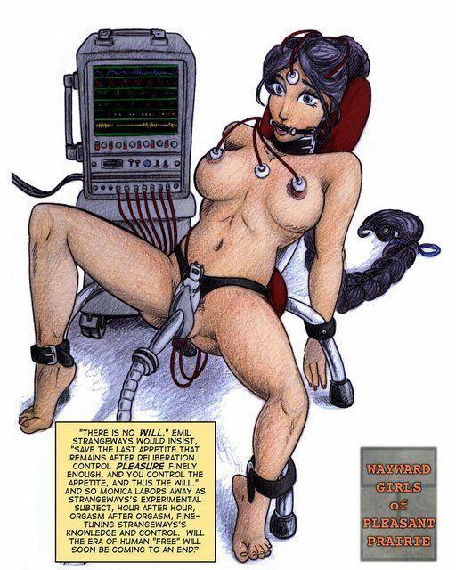 Something bondage orgasm machine